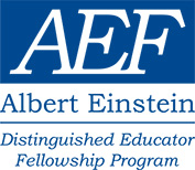 Albert Einstein Distinguished Educator Fellowship Program Logo